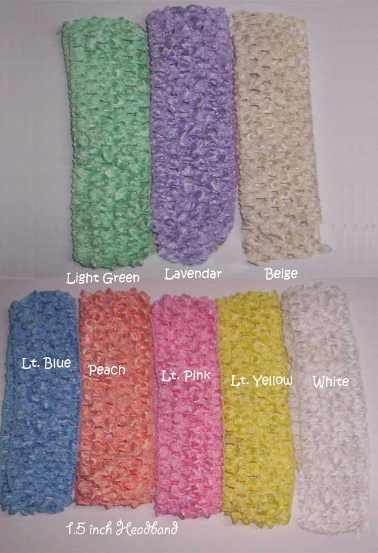 1.5 Inch Crochet Band-crochet band, interchangeable band