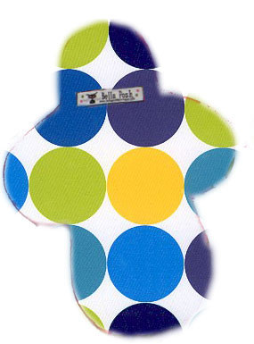Retro Blue Dots Cloth Pad-cloth pad