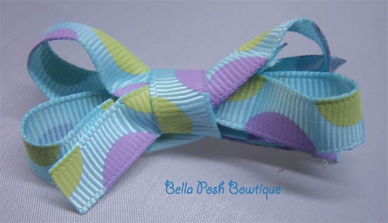 Crazy Dots Bitty Bow-bow
