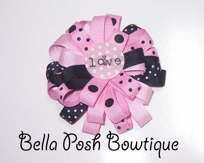Love Flower Bow-Bow, flower bow