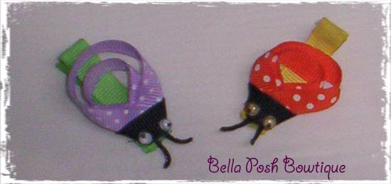 LadyBug Bow - Many Colors!!-