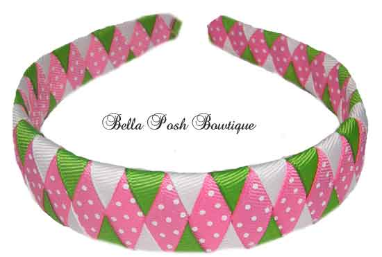 Lime Kiwi Woven Headband-Lime Kiwi Woven Headband