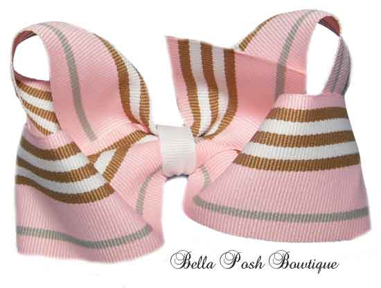 Madison Preppy Boutique Bow Large (many Preppy Style)-boutique bow, large
