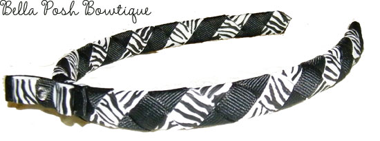 Zebra Stripes Headband-Zebra Stripes