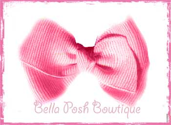 Bitty & Itty Bitty Classic Boutique Bow - Solids-classic boutique, bow, big girl bow, baby bow, boutique bow