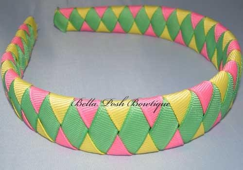 Diva Diamond-woven headband