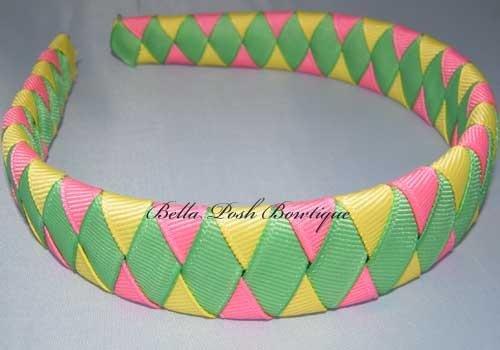 Diva Diamond-woven headband