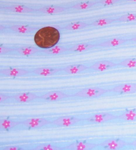 Custom Small Flowers on Blue PUL Print Diapers-Cotton Woven PUL Print , PUL print, All in One, Pocket diapers, pocket diaper, cloth diaper