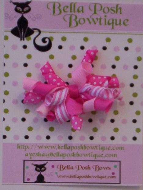 Infant Korkers Bow-korker bows, knot, hair gripper, aligator clip