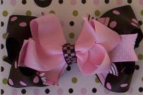 Sweet Layered Bow-layered bows, hair bow, hair bows