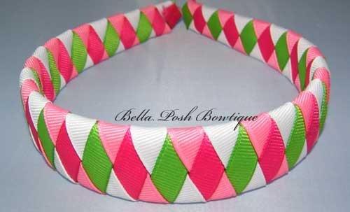 Missy Diamond-woven headband