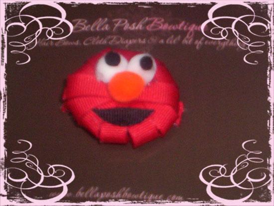 Red Monster Clippie-monster clippie, monster