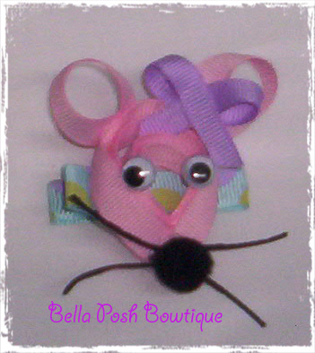 Mouse Clippie-mouse bow