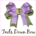 TAILS DOWN BOW
