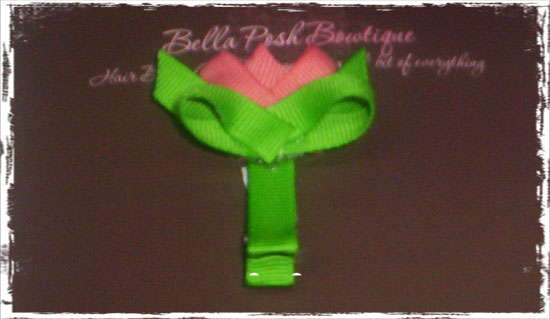 Tulip Bow-tulip bow, tulip, color