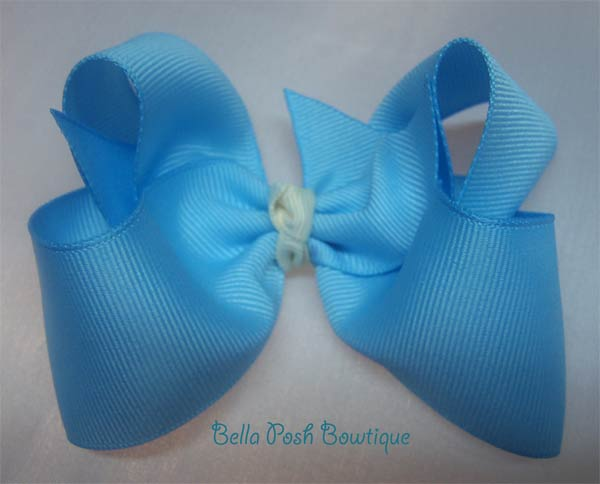 Custom Butterfly Bow - Large Ribbon-boutique bow, twisted boutique bow